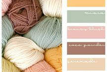 Colour inspiration / For decorating , knitting etc