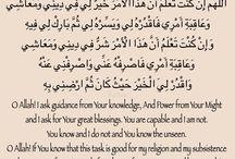 Islam / Duahs