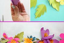 kwiaty girlandy