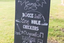 Lawn Games / Fun lawn game ideas for weddings