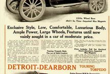 Detroit-Dearborn Motor Car Ads / The Detroit-Dearborn Motor Car Company was organized in the summer of  1909 by Edward Bland,, Arther Kiefer, Elmer Foster, and Samuel Lampham and were making cars by the end of the year. The D-D cars were  35 horsepower as a touring torpedo model called the Minerva. Next came a touring roadster Nike and both were priced at $1,650. The body had well-desingned appointments and it was a very good vehicle.