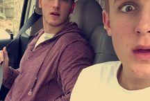 Pauls brothers / Jake and Logan Paul