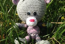 Crochet toys and decor