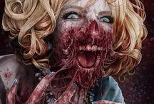 Horror and skulls