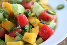 Favorite Salads / Fruit / by Rhonda Dracoulis