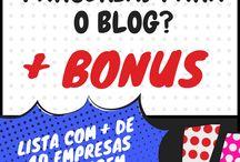Parcerias para blogs