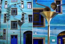 DIY Inspiration | Downpipe / A page filled with inspiration of downpipes to brighten up your garden even more.