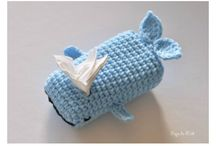Crocheted Tissue Covers