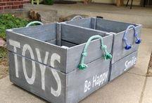 toys baskets