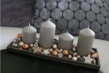 svícny vánoční