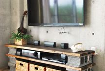 Muebles para la casa club / Artesanía y decoración