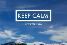 The KEEP CALM Ones