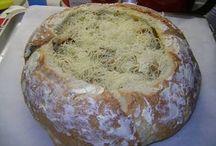ψωμί με τηγανιά