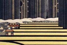 Lino & Woodblock / woodblock and linoleum prints