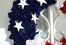 Red, White, and Blue / by Debbie Smith-Cannan