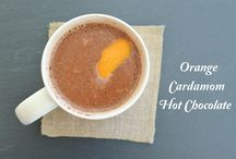 Who loves Hot Cocoa? ME! #HotChocolateParty / Hot Chocolate creations