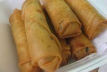Rollizos de comida china