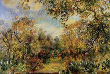 Akvarell /olje -målning