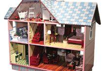 doll house - domečky pro panenky  / jeden mám doma a stále ho zvelebuji