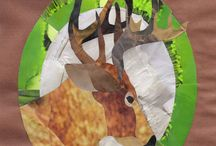 Cut and Torn Paper Collage