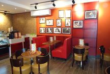 The First Branch For europ Cafe Brand / These designs & Artwork & Decoration have been implemented by Art Design