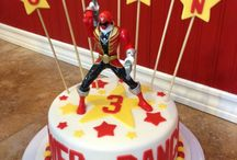 Power ranger cake