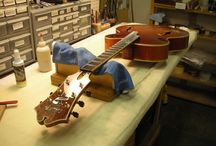 Guitar workspace / by Danielle DePriest