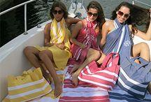 """Luxury Beach Towels / Luxury Beach Towels http""""//www.scentsandfeel.com / by ScentsandFeel Designer Fouta"""