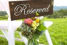 Reserved Sign for Weddings
