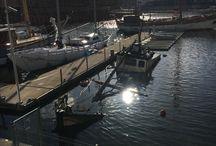 Gdansk - statki - muzeum - sołdek - żuraw