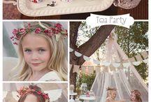 tea party shoots