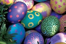 Easter Egginess / Inspiration for your annual egg-ventures in coloring and creativity.