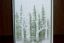 Cards - Woodland embossing folder