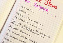 sentences stem for science / by irene beach