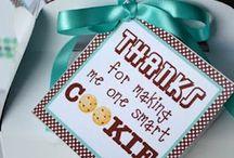 Teacher/kid gifts & school ideas