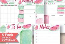 DIY Printable Daily Planner