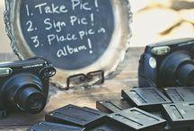 Wedding Polaroid table