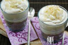 Low Carb Desserts & Naschereien