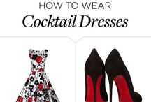 Cocktail chic / Inspiratie for dresses