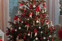 piros-fehér karácsony