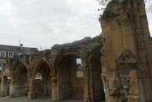 Caen (Normandie), Eglise Saint-Gilles / Chiesa romanica rifatta in stile gotico nel XV secolo e distrutta dalle bombe nel 1944