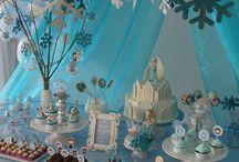 festa da Frozen para Ananda