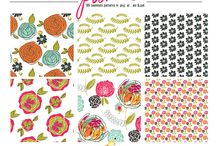 LYF Seamless Patterns / Seamless Patterns from the Little Yellow Finch Shop