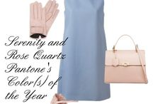 Pantone's Color(s) of the Year / Serenity and Rose Quartz