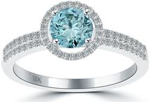 FANCY COLOR DIAMOND ENGAGEMENT RINGS / by Liori Diamonds