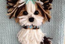 Knitting  - dog jersies