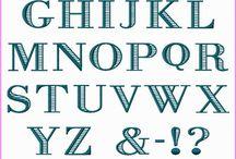 Font & typography
