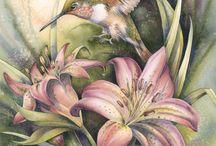ζωγραφικη ζωα πουλια