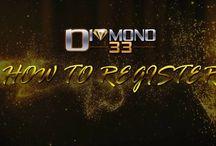 Diamond33 Video Tutorial - Register - Deposit - Withdrawal - Transfer