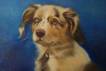 Pet Portraits by MarilynsCanvas / Original Oil Paintings by Marilyn Weisberg